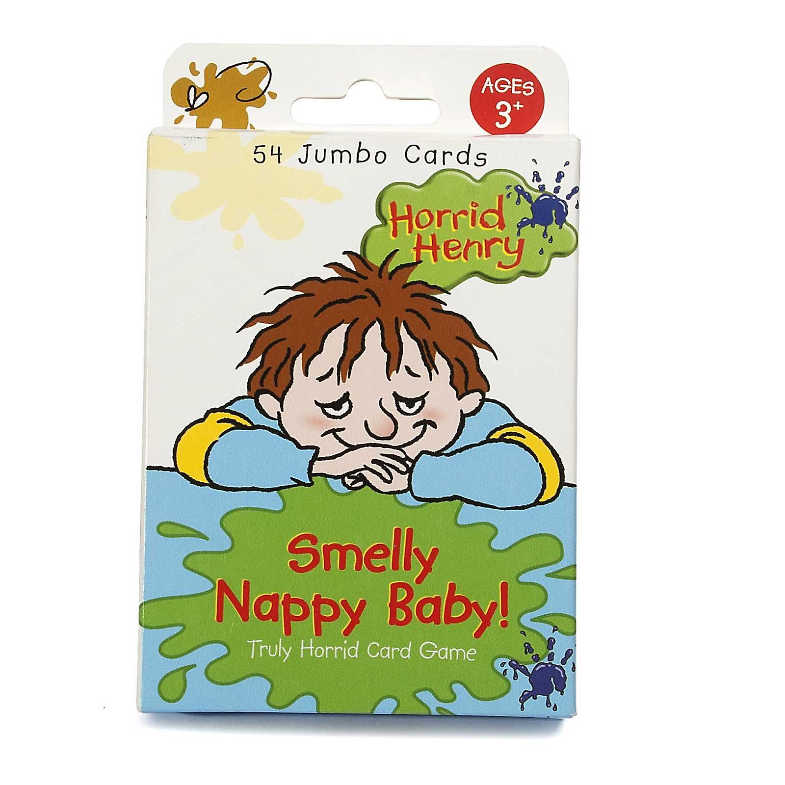 Horrid Henry Card Game Smelly Nappy Baby! Truly Horrid Age 3+