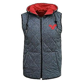 Voi Jeans Men's Cave Reversible Body Warmer Gilet Jacket