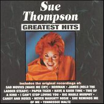 Sue Thompson - Greatest Hits [CD] USA import