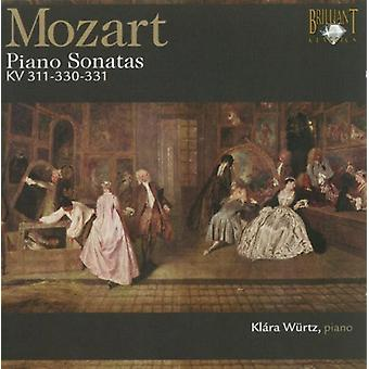 W.a. Mozart - Mozart: Piano Sonatas, K. 311, 330 & 331 [CD] USA import