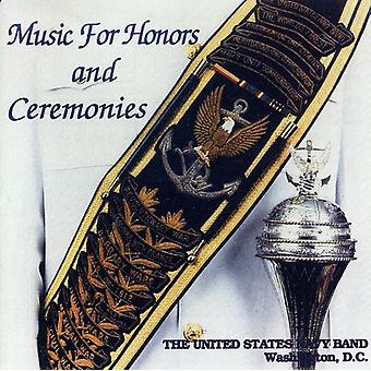 U.S. Navy Band - Music for Honors and Ceremonies [CD] USA import