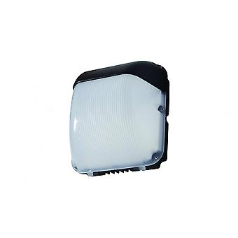 LED Robus Falcon 50W LED Black Wall Pack With Photocell