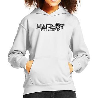 WarBoy Car Sticker Mad Max Kid's Hooded Sweatshirt