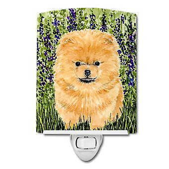 Carolines Treasures  SS8746CNL Pomeranian Ceramic Night Light