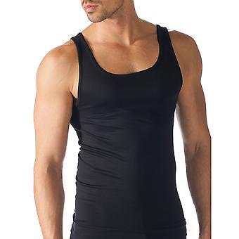 Mey 42500-123 mannen Software zwarte effen kleur Tank Vest Top