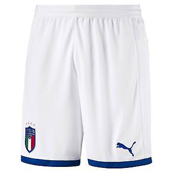 2018-2019 Italia Puma Etusivu shortsit (valkoinen) - lapset