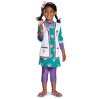 Doc lemmikkieläinten eläinlääkäri Deluxe Disney Doc McStuffins sairaalan pukeutua tyttöjen puku