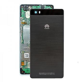 Tampa de bateria tampa da bateria para Huawei P8 Lite preto