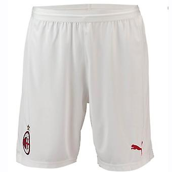 2018-2019 AC Milan Puma hem Shorts (vit)