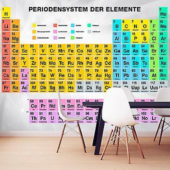 Fototapet - Periodensystem der Elemente