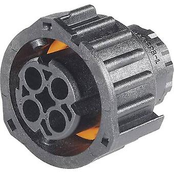 TE Connectivity 1-968968-1 Kugel Stecker-Buchse, gerade Reihe (Anschlüsse): DIN 72585 Gesamtzahl der Stifte: 4 1 PC