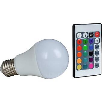 Heitronic LED (monochrome) EEC A+ (A++ - E) E27 Arbitrary 7.5 W = 50 W RGBW (Ø x L) 60 mm x 108 mm colour-changing, dimmable 1 pc(s)