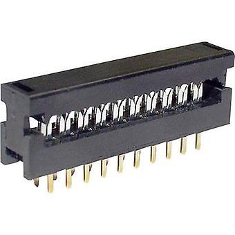 econ connect LPV25S6 Edge connector (recipiënt) Totaal aantal pinnen 6 Nee. van rijen 2 1 pc(s)