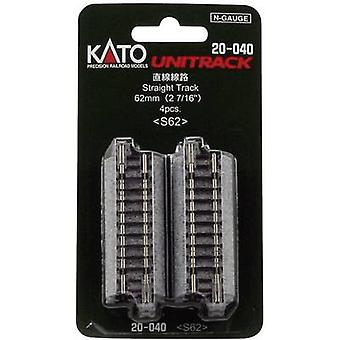 7078010 N Kato Unitrack Straight track 62 mm