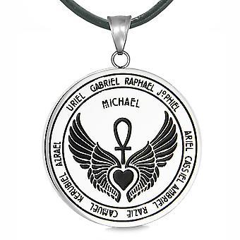 天使の 12 の守護天使のメダリオン