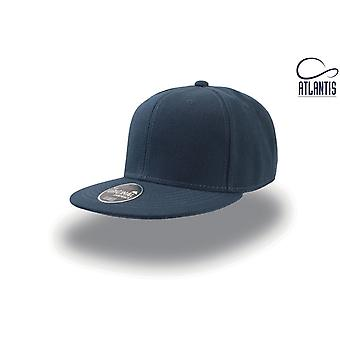 Atlantis Snap Back Flat Visor 6 Panel Cap