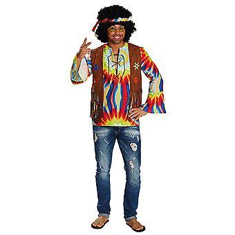 Hippy mężczyzn kostium freak Beatnik karnawał