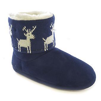 المرأة سلومبيرزز LED ضوئي عيد الميلاد النعال الحذاء