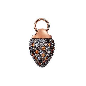 Joop vrouwen hanger charme zilver Rosé cubic zirconia KATY JPCH90003C000