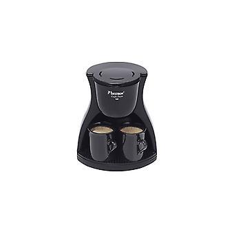 Bestron ACM8007BE koffiezetapparaat  2 kops 450 W  Zwart