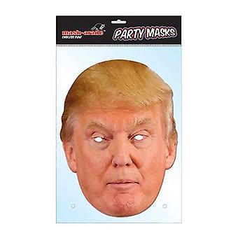 Donald Trump Bnov celebridad tarjeta mascarilla