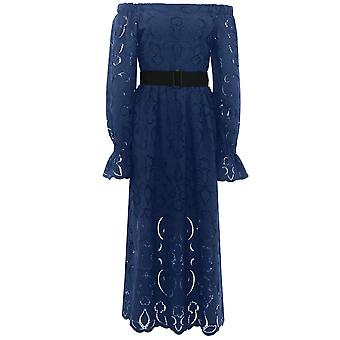 Perseverance Lily Embroidered Dress