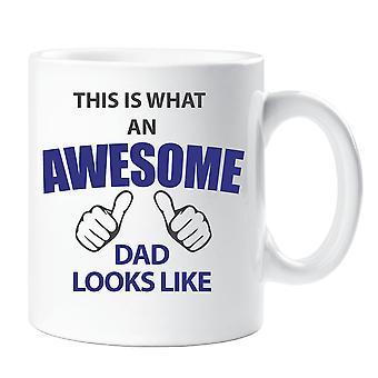 To jest to, co niesamowite tata wygląda jak kubek