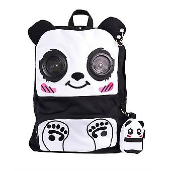 Banned Panda Backpack With Built In Speakers
