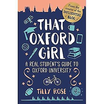 At Oxford Girl: En ekte Student Guide til Universitetet i Oxford