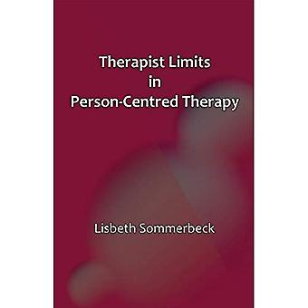 Therapist Limits in Person-Centred Therapy 2015