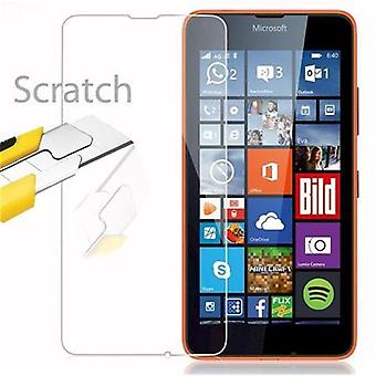Cadorabo Tank Foil for Nokia Lumia 640 - Protective Film in KRISTALL KLAR - Tempered Display Protective Glass in 9H Hardness with 3D Touch Compatibility