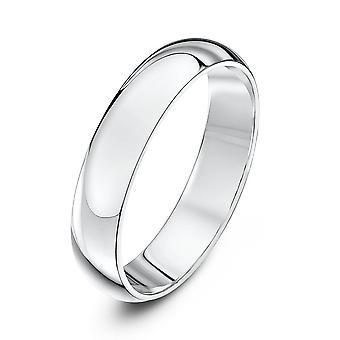 Star Wedding Rings Palladium 950 Heavy D 4mm Wedding Ring