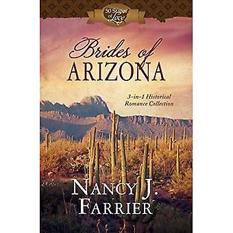 Bruiden van Arizona: 3-In-1 historische Romance collectie (50 staten van de liefde)
