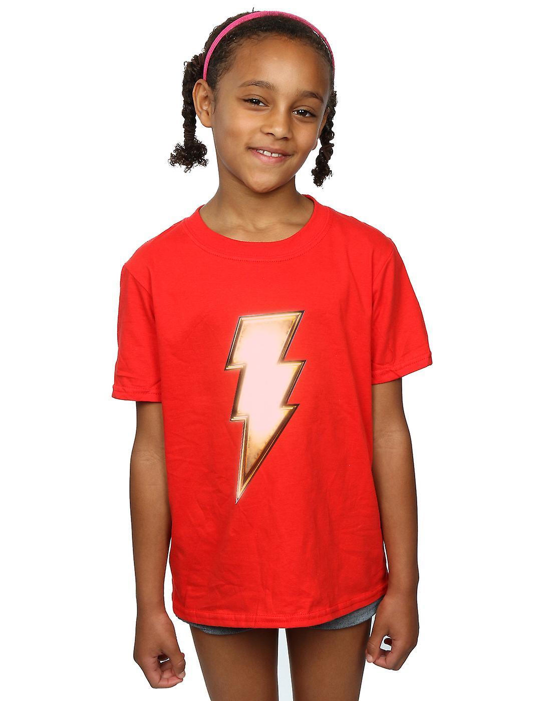 DC Comics Girls Shazam Bolt Logo T-Shirt
