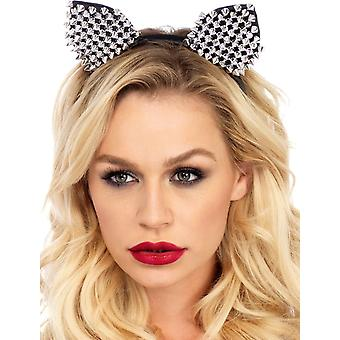 Cat Ears Silver Adult