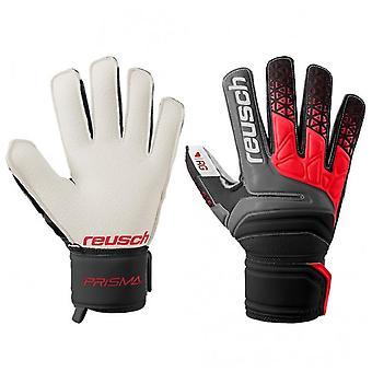Reusch Prisma RG Finger Support Mens Goalkeeper Goalie Glove Black/Red