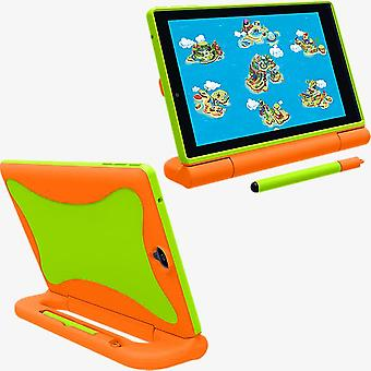 Verizon GizmoTab Kids Case - naranja/verde