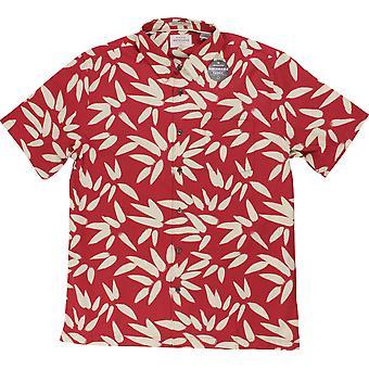 Quiksilver Mens Waterman samling Odysea SS Shirt - kardinal röd
