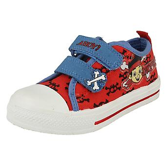 Boys Disneys Canvas Shoes Style - Jake Crossbone Canvas
