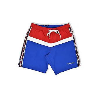 Champion Taped Beach Shorts (Red/White/Blue)