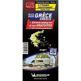 Greece Motorhome Stopovers - Map by Greece Motorhome Stopovers - Map -