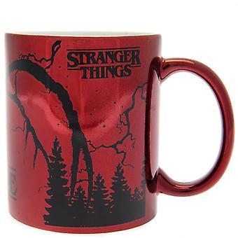 Stranger Things Metallic Effect Mug