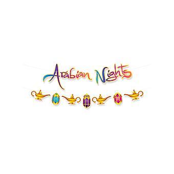Arabian Nights Streamer Set