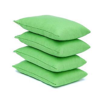 Lime Cotton Pack von 4 Juggling Bean Taschen für Outdoor Play