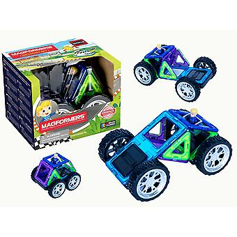 Magformers Rally Kart Boy Racer Set Magnetic Toy- Educational Toys