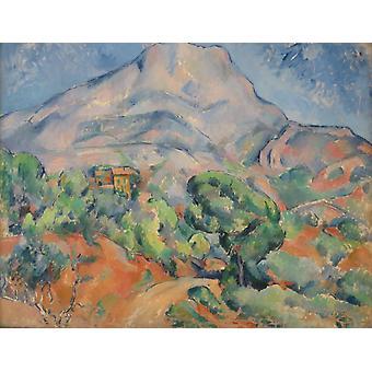 Mont Sainte-Victoire, Paul Cezanne, 50x38cm