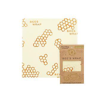 Enkelt medium bivoks wrap, honeycomb