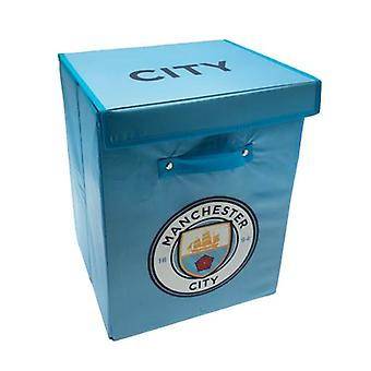 Manchester City FC stof opbergdoos