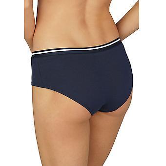 Mey Frauen 29542-408 Damen Baumwolle Pure Night Blue Unterwäsche Kurz Hipster