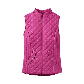 Joules Minx Womens Quilted Gilet - Pink